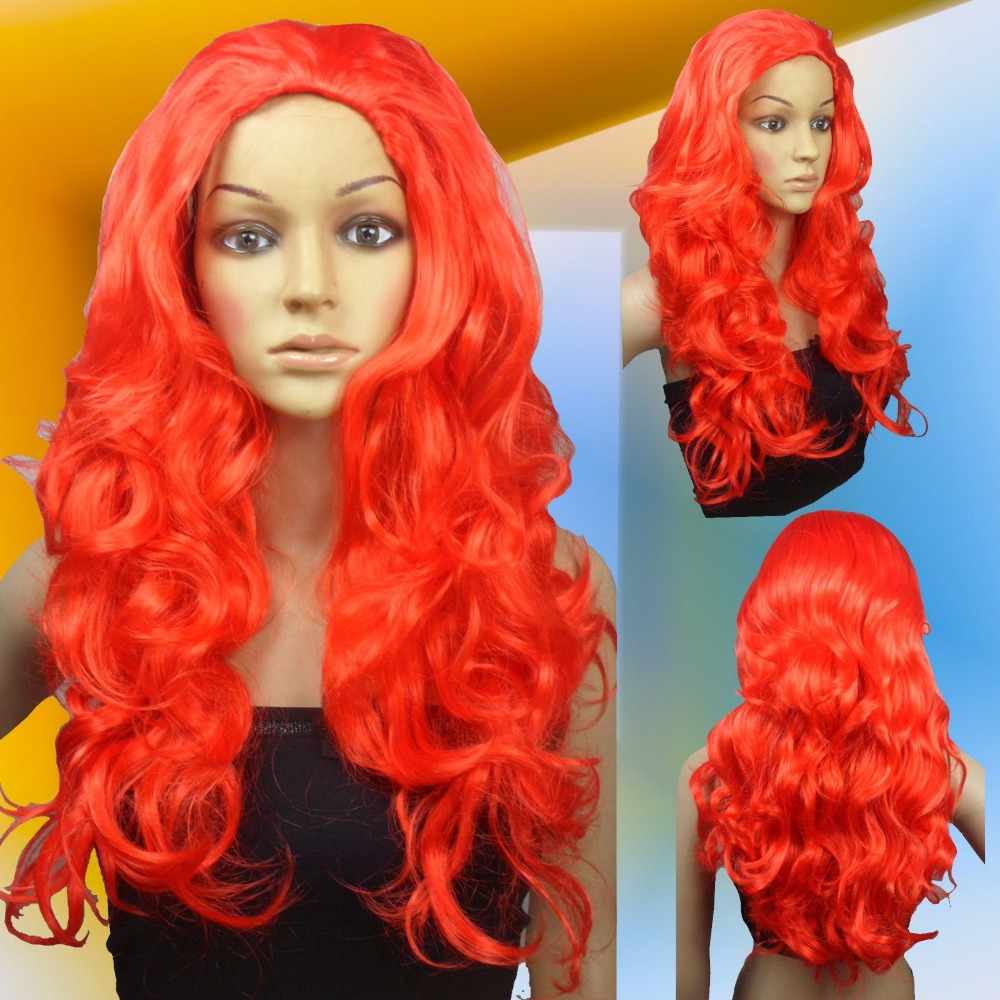 FREE SHIP>>>Lethal Beauty Poison Ivy Red Costume Halloween Cosplay Wigs 00_2(China (Mainland))