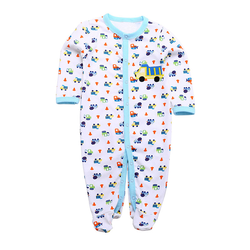Retail 2014 Winter Baby Rompers Underwear Pajamas Long Sleeve One-piece Similar Baby Boys Girls Romper Character jumpsuit(China (Mainland))
