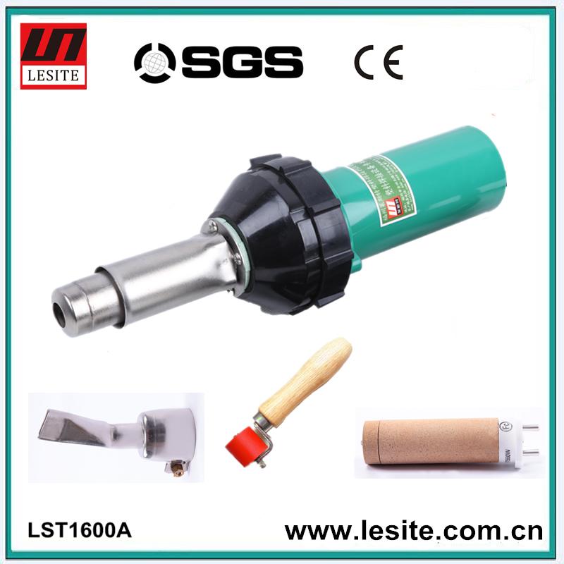 Entrega rápida 220 V 1600 W CE aprobado soldador pistola de aire caliente, pistola de soldadura de plástico, soldadura de aire caliente máquina, soldador de plástico pistola(China (Mainland))