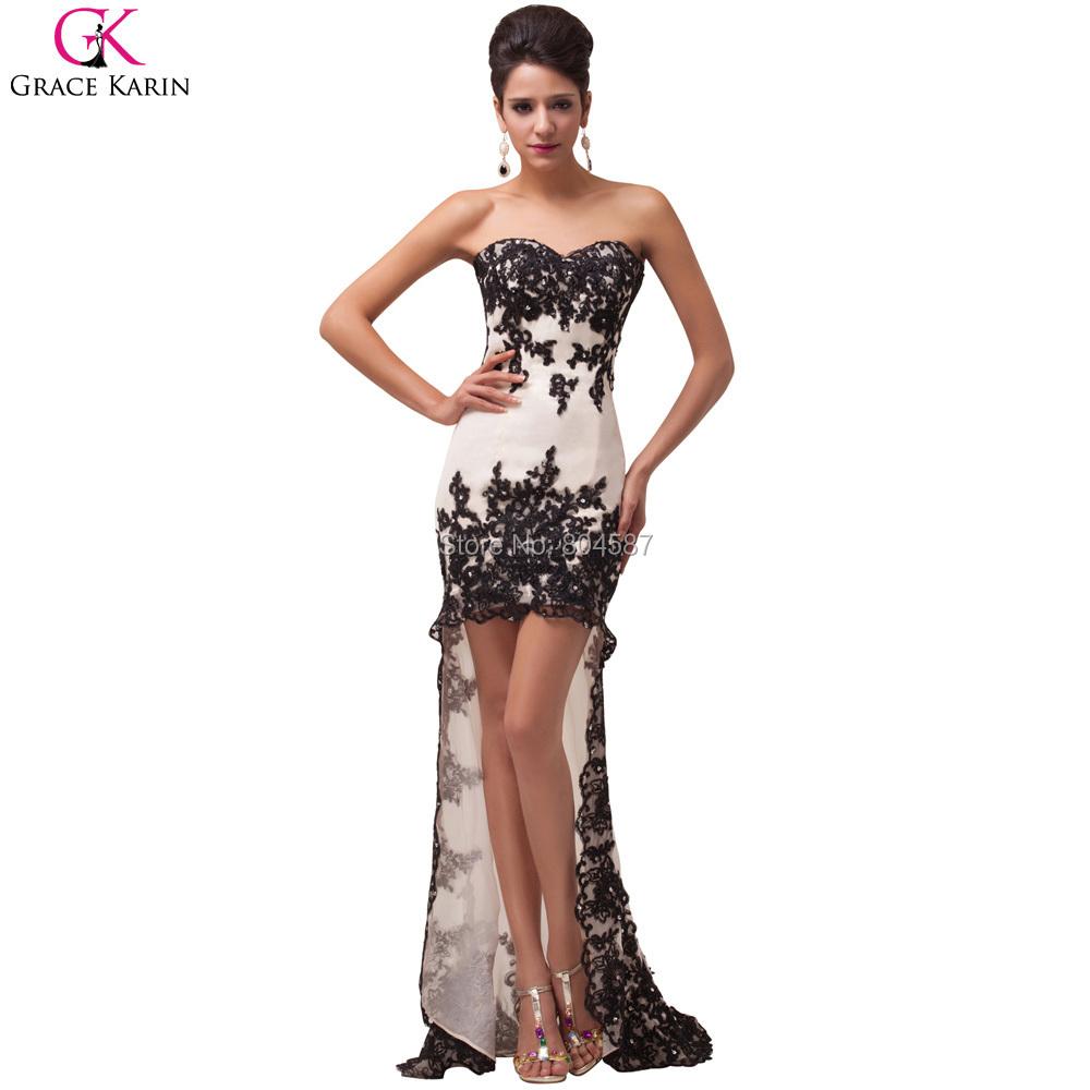 Aliexpress.com : Buy High Low Evening Dresses 2016 Grace ...