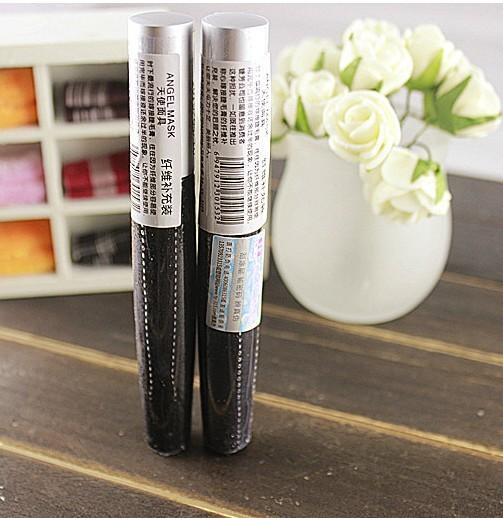 Tunoscope false eyelashes eyelash fiber effects lengthen mascara black and white