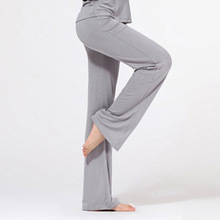 Womens Yoga Pant Trousers Cotton Practise Pants Exercise Lounge Sports Long Pant  Free DropShipping