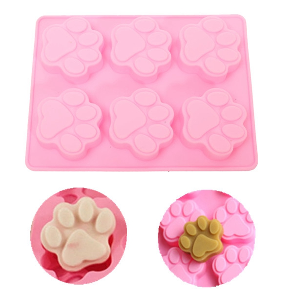 Cats Paw Silicone Cake Mold Chocolate Cookies Decorating Soap Tools Kitchen Fondant Cooking Accessories New(China (Mainland))