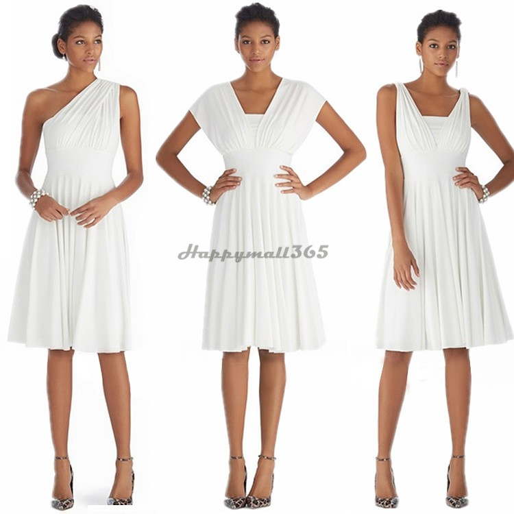 White Dresses Lady Elegant