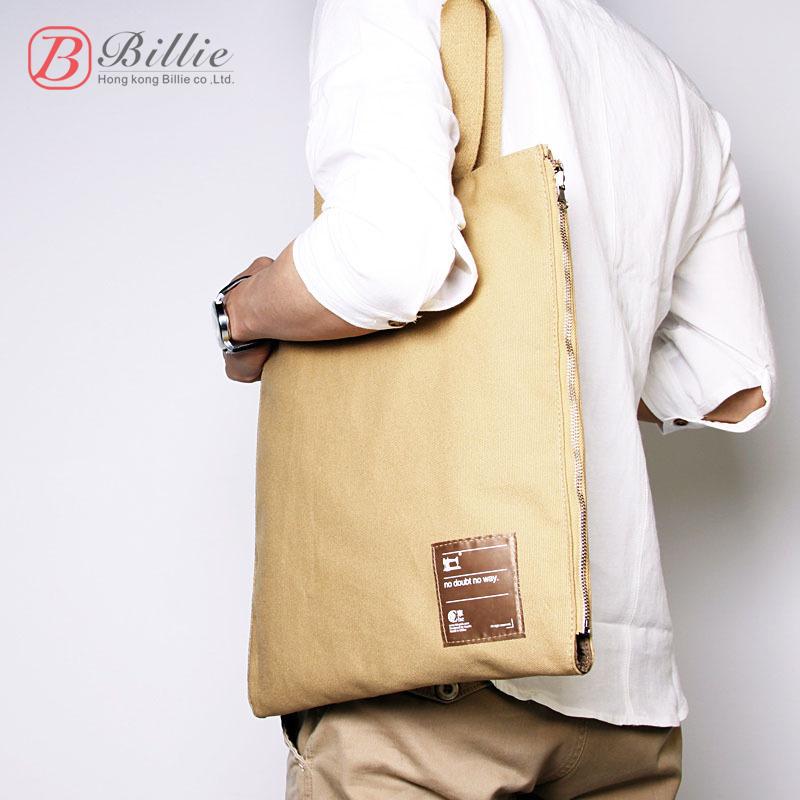 Contracted leisure portable canvas bag notebook case for men and women briefcase handbag fashion notebook bag 11 12 13. inch<br><br>Aliexpress