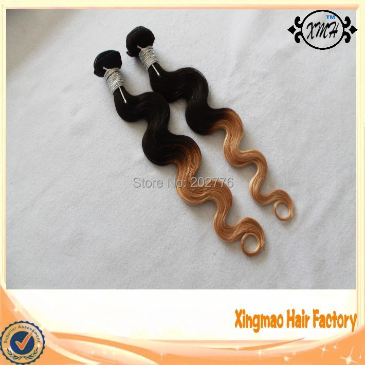 Indian Remy Human Healthy Hair Extension 90g/piece T1B/27 Body Wave 14-26 7a grade free shipping within 24 hours<br><br>Aliexpress