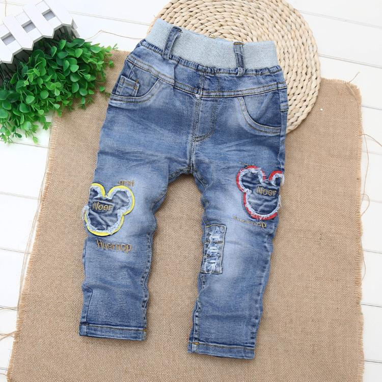 Girls Spring Baby Children Denim Jumpsuit Piece Pants Cool Neutral New Kids Clothing For  Girls Washed Cowboy Overalls D01X15<br><br>Aliexpress