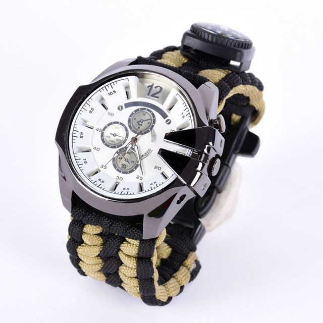 Multifunction 6 in 1 Outdoor Watch