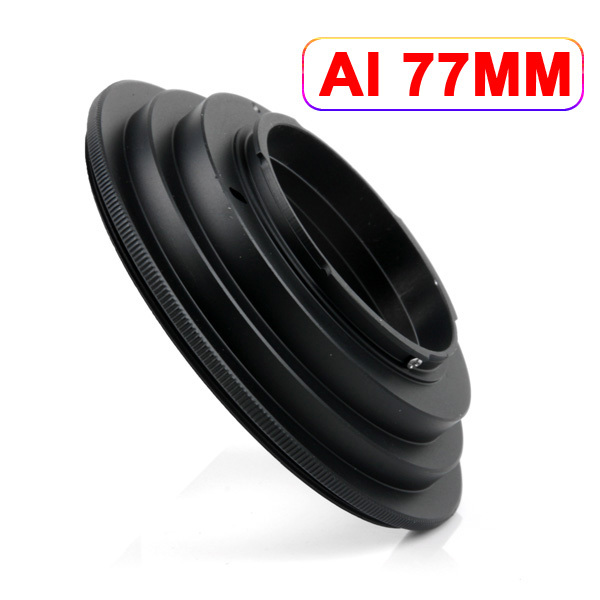 New AI-77mm 77 mm Macro Reverse Ring Adapter for Nikon AI Mount<br><br>Aliexpress
