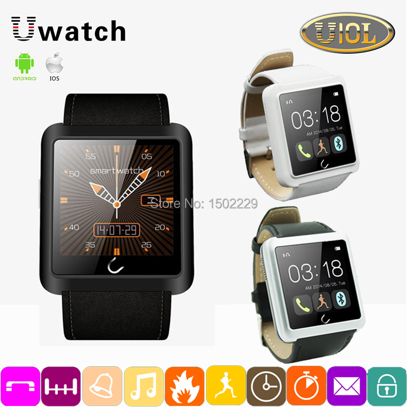 U10L Bluetooth Smart Watch WristWatch U Smartwatch Sync Phone Call SMS Samsung HTC IOS Android Smartphones Updated U8 U10(China (Mainland))