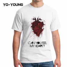 Buy Yo-Young Men T Shirts Bring Horizon Can Feel Heart Digital Printed 100% Combed Cotton 180gsm Customized for $8.70 in AliExpress store