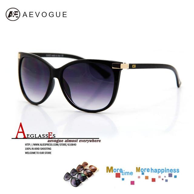 Aevogue кошачий глаз очки бренд лен коробка очки солнечные очки женщины винтажный 20 шт. / lot FDA AE0098