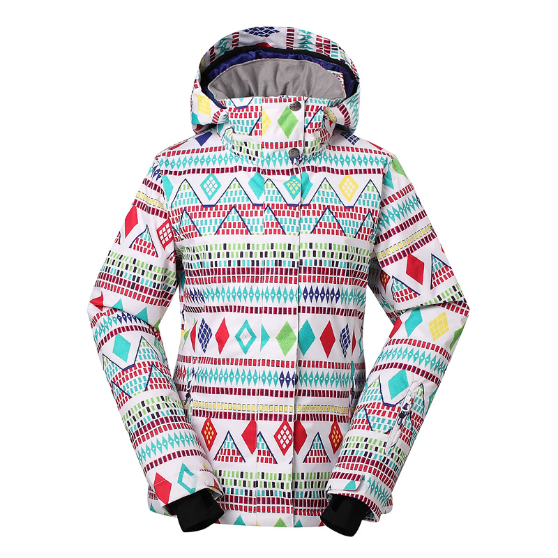 Free shipping,2016 winter New Gsou Snow Lady ski cotton coat clothing guaranteed the original ski snowboarding jacket women(China (Mainland))