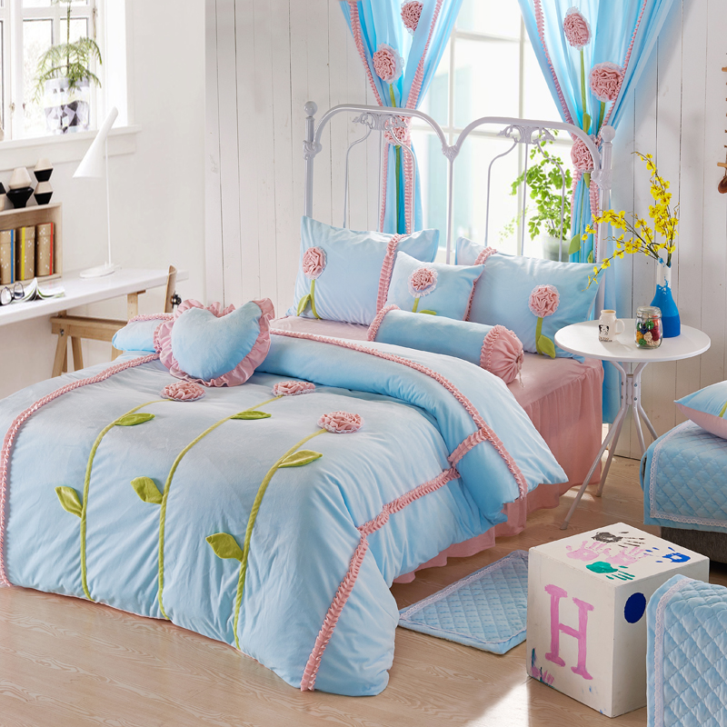 Princess twin bed promotion shop for promotional princess twin bed on - Twin size princess bed set ...