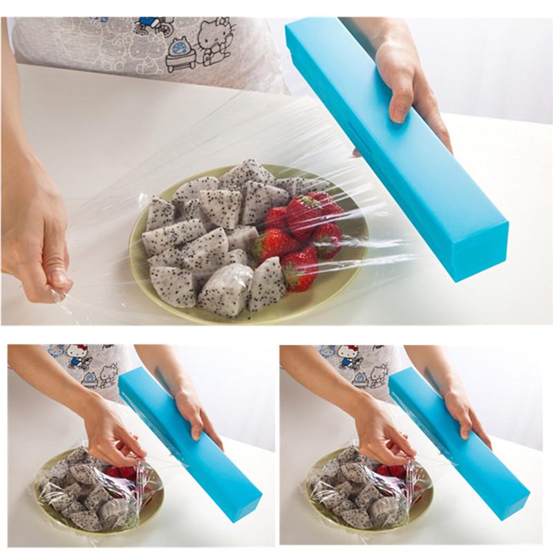 Cling Wrap Dispenser Cling Film Cutter Wrap