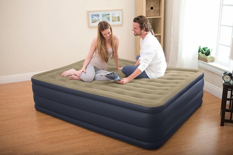 Здесь можно купить  Genuine INTEX luxury built new pump double-double inflatable air bed air bed inflatable mattress  Мебель