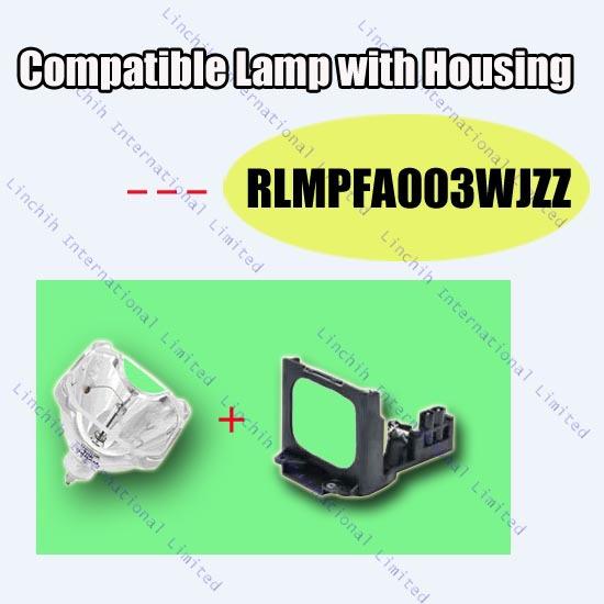 BQC-XGC50X//1 / RLMPFA003WJZZ for Sharp projector lamp XG-C50X ; PG-C45XU ; PG-C50XU / replacement projector bulb with housing<br>
