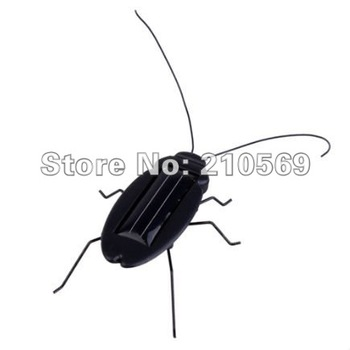 Solar toy Cockroach Mini Solar Toy Solar Energy Powered Cockroach, Kids' Toy,best gift for children free shipping