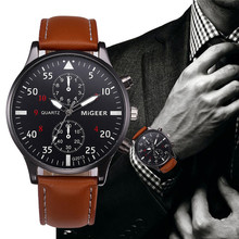 Buy Retro Design Leather Band Watches Men Analog Sport Military Alloy Quartz Wrist Watch 2017 Date Clock Male hour Relogio Masculino for $1.40 in AliExpress store