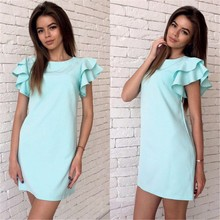 Buy Ciysty 2017 Fashion Womens Summer Style Butterfly Sleeve Casual Dress Red Sexy Backless Beach Mini Party Club Dresses Plus Size for $6.89 in AliExpress store
