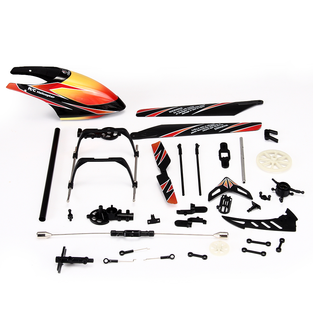 33 PCS Replacement Spare Parts for V912 RC Radio Control Helicopter(China (Mainland))