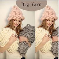 Free Shipping Russia Fashion Hotsale Warm DIY Hand Knitting Yarn Iceland Yarn Big Thick Yarn For Hat & Scarf 500 Gram
