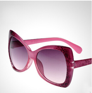 Exaggerated Women Sunglasses Large Frame Sunglasses Women Summer Party Sun Glasses Oculos De Sol Feminino #50(China (Mainland))