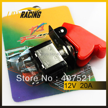 Auto racing racing Switch Panels red cover toggle switch 12V 20A  racing switch panels /Ignition/Accessory engine start