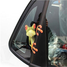 Durable 3D Peep Animal Funny Truck Car Window Graphics Sticker Wholesale Fast Shipping