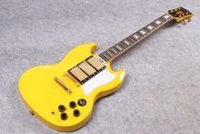 2016 New G400 Electric guitar /yellow color lp sg guitar/guitar in china(China (Mainland))