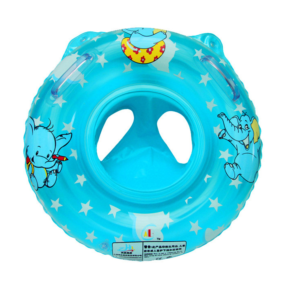 Cute Kids Baby Child Handle Inflatable Swimming laps Pool Swim Ring Seat Float Boat Water Sports Swimming Ring(China (Mainland))