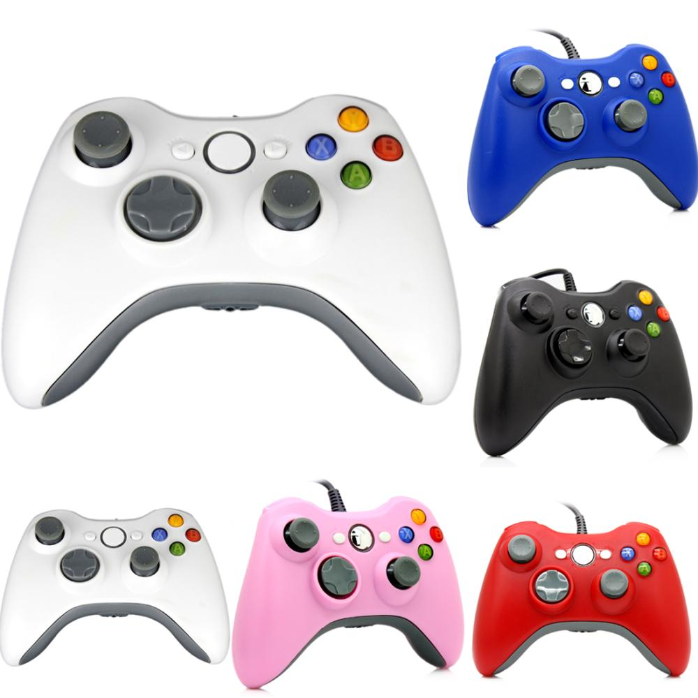 Hot Sale For Micro Soft Xbox 360 USB Wired Game Pad Slim PC Joypad Controller(China (Mainland))