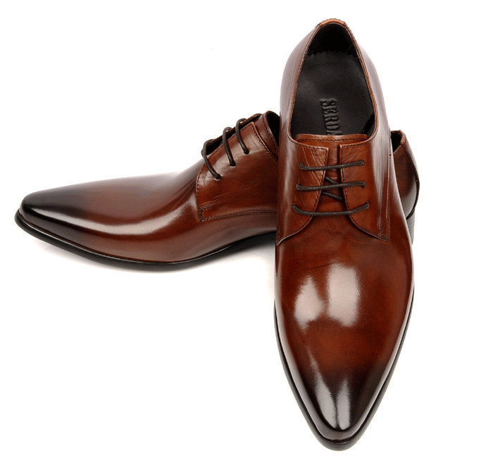 Brown Leather Dress Shoes Casual