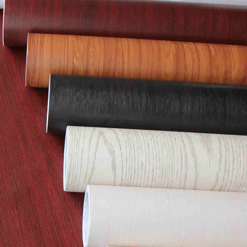 Thick waterproof self adhesive wallpaper color film film for Waterproof wallpaper for home