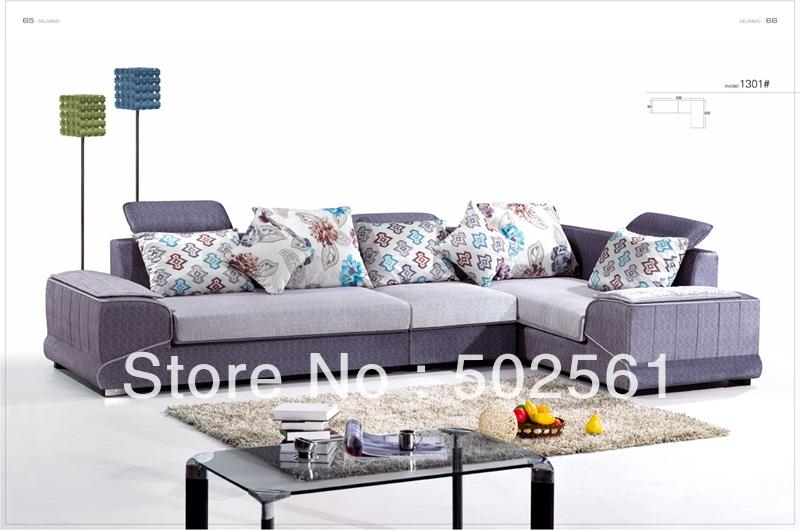 2014 new modern comfortable fabric corner sofa sectional leisure living room furniture(China (Mainland))