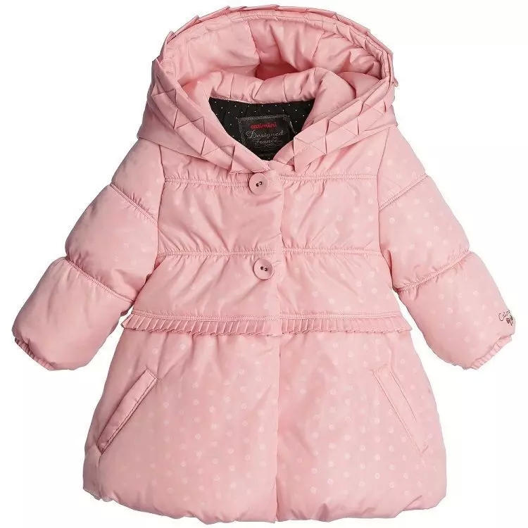 6 months -6 year old girls CATIMINI new cotton padded jacket