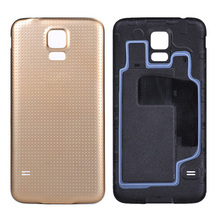 100% Original Housing Battery Back Cover for Samsung Galaxy S5 i9600 Replacement Door Case Ultra thin with silicone layer