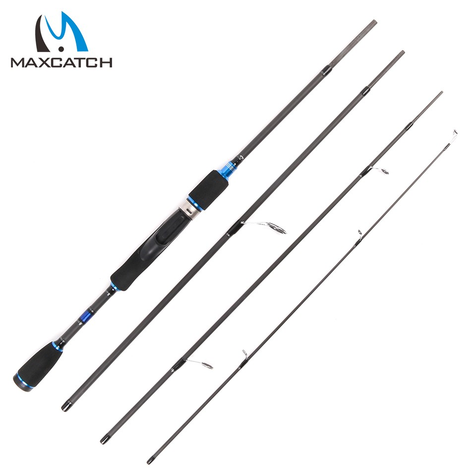 Maxcatch 2.1M 6.90FT 4PCS Lure Weight 10-30g Spinning Fishing Rod For Lure Fishing<br><br>Aliexpress