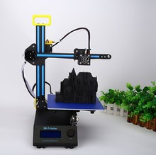 New Arrival Portable DIY Impresora 3D Printer Kit Mini Prusa i3 Rapid Prototyping 3D Printer