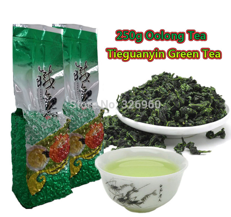 Wholesale Chinese Oolong Tea 2015 Fragrance Green Tea Health Care Tieguanyin Tea 250g Green Food + SECRET GIFT<br><br>Aliexpress