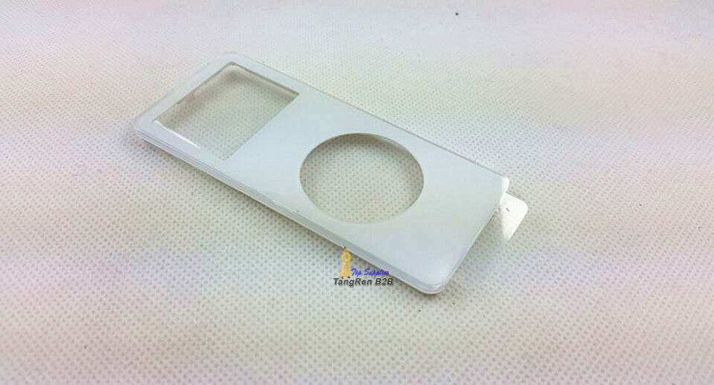 white plastic front faceplate fascia housing case cover shell screen lens repair replacement part for ipod nano 1st gen 2gb 4gb(China (Mainland))
