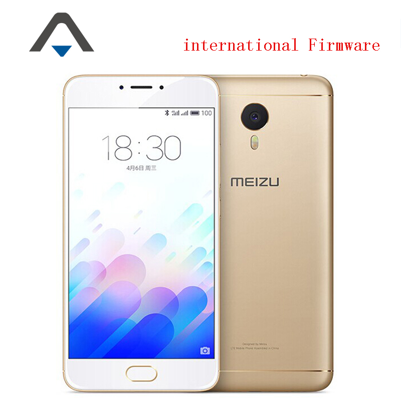 "Original Meizu M3 Note LTE 4G Mobile Phone MTK Helio P10 Octa Core 5.5"" FHD 1920x1080 3GB 32GB 13MP Android 5.1 Touch ID 4100mAh(China (Mainland))"