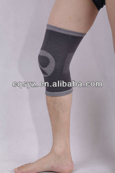 Free Shipping 1032 Four-way pull Breathe Freely Elastic Bamboo Knee Support knee brace carbon fiber knee support(China (Mainland))