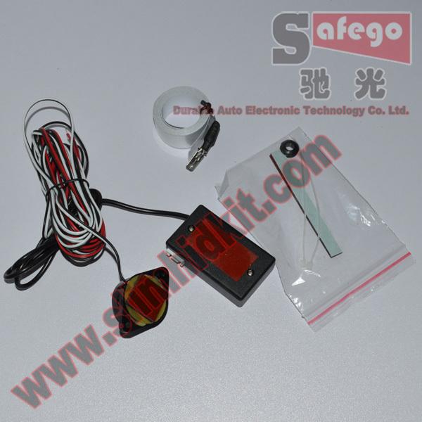 1 set Free shipping Car Reverse Backup Radar,parking safety Electromagnetic parking sensor no holes no drill,Parking Assistance(China (Mainland))