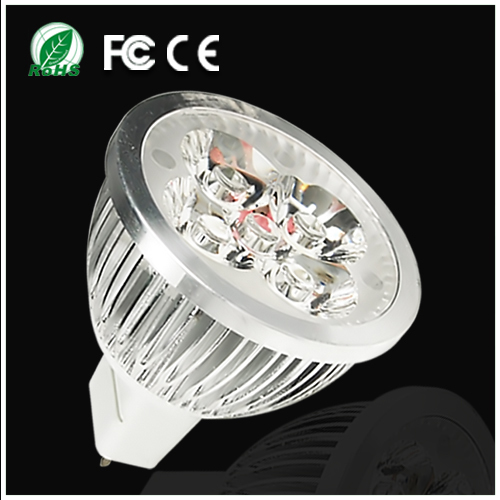5pcs/lot Ultra Bright Spotlight Lamp MR16 9W DC12V Cold Warm White Aluminum Non-dimmable LED Bulb Light Drop Shipping(China (Mainland))