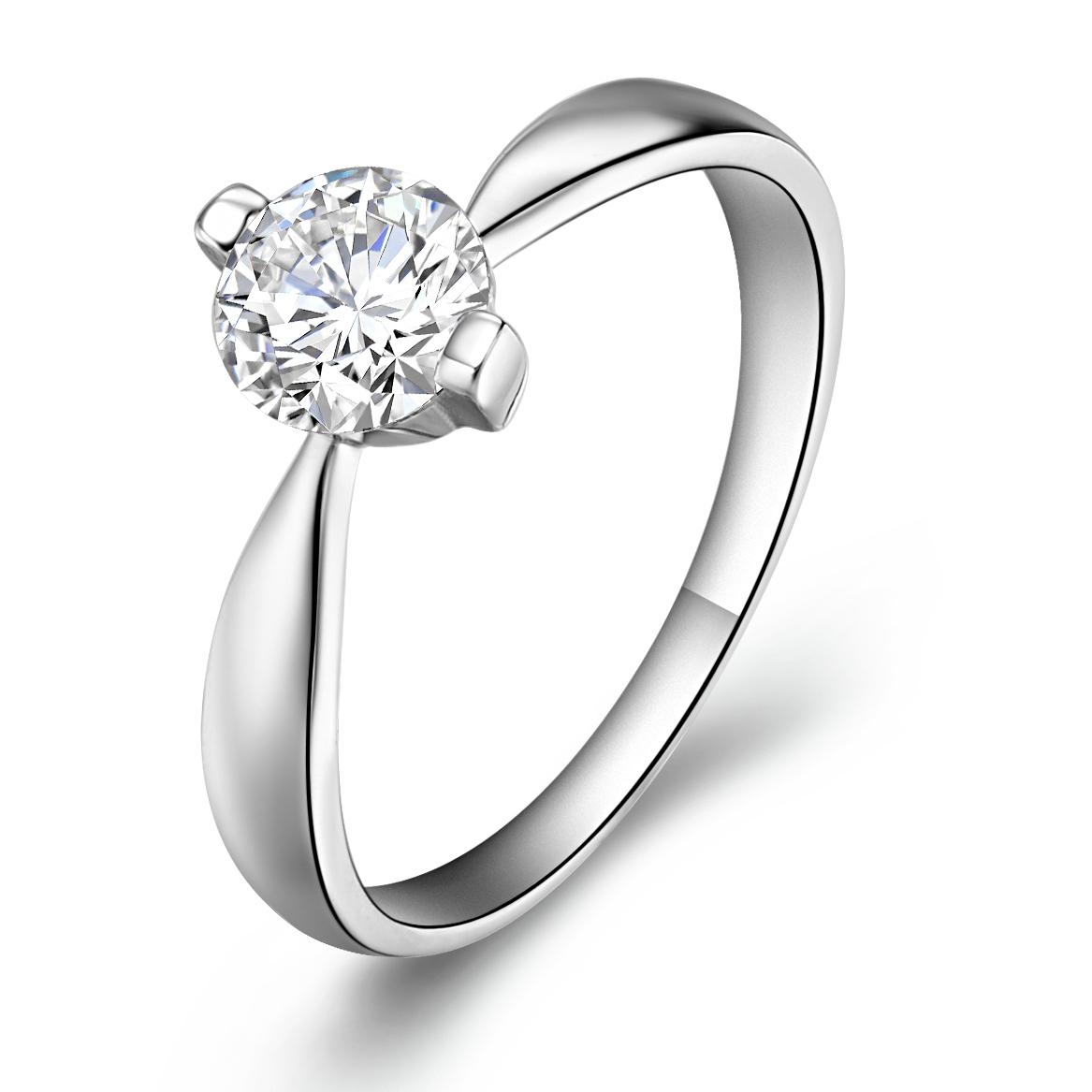 Birthday gift accessories 925 pure silver arrow cubic zircon stone ring female - Soldi Fashion Jewelry store