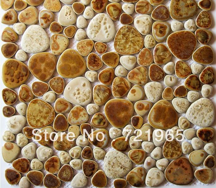 Cobble Stone Mosaics : Cobble stone tile reviews online shopping