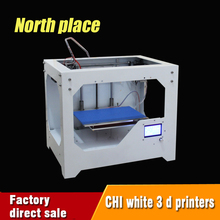 high performance high quality metal case 3d printer with 2 Roll Filament 4GB SD card and LCD