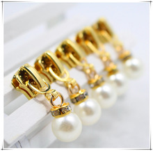 Buy 5# 20pcs Wholesale High quality Pearl metal copper zipper head, clothing accessories,DIY Zipper Sliders Garment Accessories,05 for $6.55 in AliExpress store