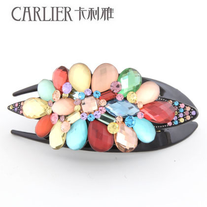 high-grade crystal ornaments, Cali dovetail clip acrylic diamond jewelry manufacturers selling full of acetic acid(China (Mainland))